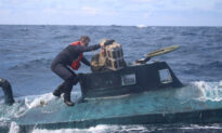 Coast Guard Catches Self-Propelled Submarine Carrying $165 Million Cocaine