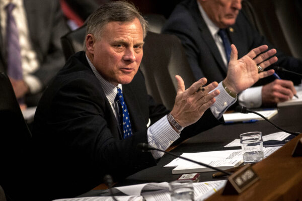 Chairman Richard Burr (R-NC) speaks
