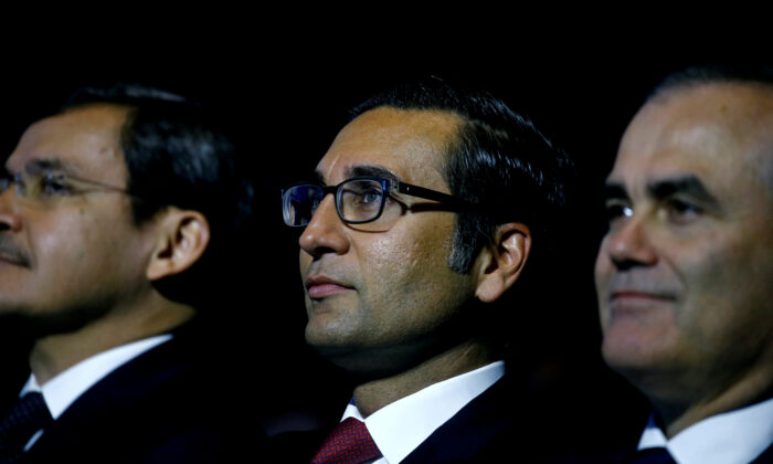 Iqbal Khan, former CEO International Wealth Management of Swiss bank Credit Suisse attends the company's annual shareholder meeting in Zurich, Switzerland April 26, 2019. (Arnd Wiegmann/Reuters)