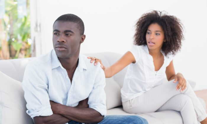 Women often prefer talking as a way to deal with difficult emotions, but for many men, talking doesn't feel like a safe way to process emotion. (wavebreakmedia/Shutterstock)