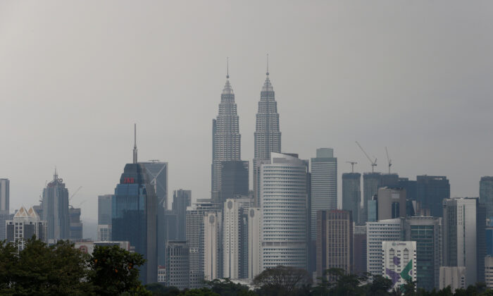 A view of the Kuala Lumpur city skyline in Malaysia on Feb. 7, 2018. (Lai Seng Sin/Reuters)
