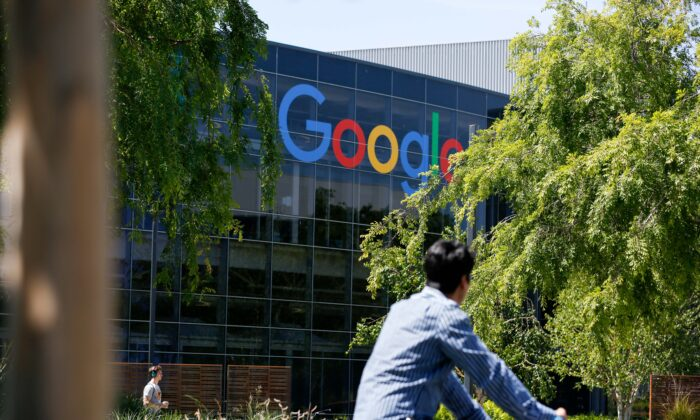 Google's main campus in Mountain View, California on May 1, 2019. (Amy Osborne/AFP/Getty Images)