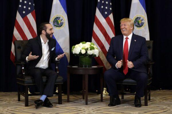 Trump meets Bukele
