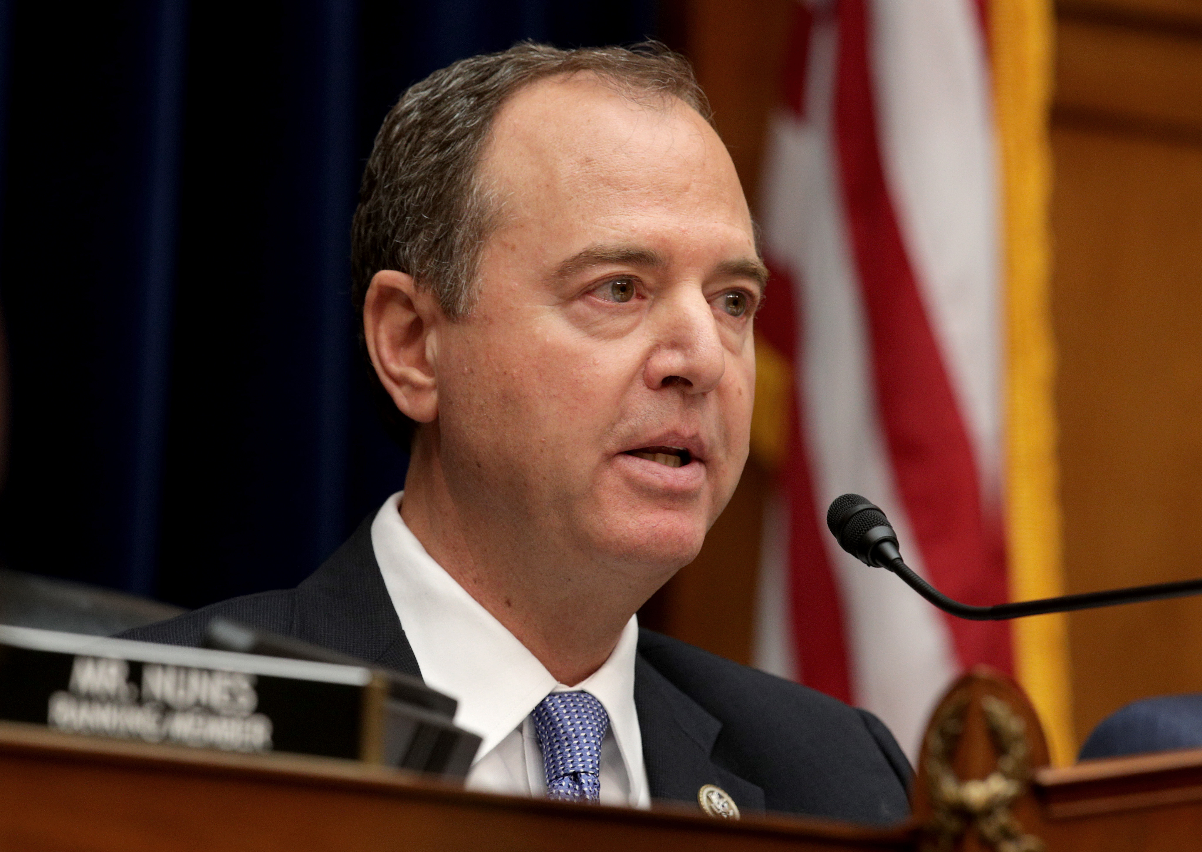 adam schiff reads transcript