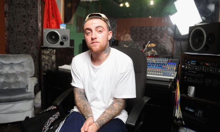 Mac Miller in a file photograph. A second person was arrested in connection with his death this week. (Jamie McCarthy/Getty Images)