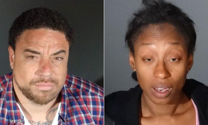 Adam Mason, 35, and Kiana Williams, 33. Culver City Police Department)