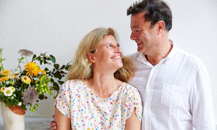 Alessandra and Mario De Benedetti. (Emily Hawkes)