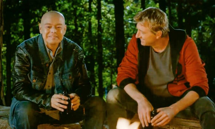 Rob Garrison (L) and William Zabka in 'Cobra Kai'. (Courtesy of Sony Pictures Entertainment)