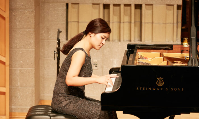 Sanghie Lee from South Korea will be one of the pianists advancing to the finals on Sept. 28, 2019. (NTD)