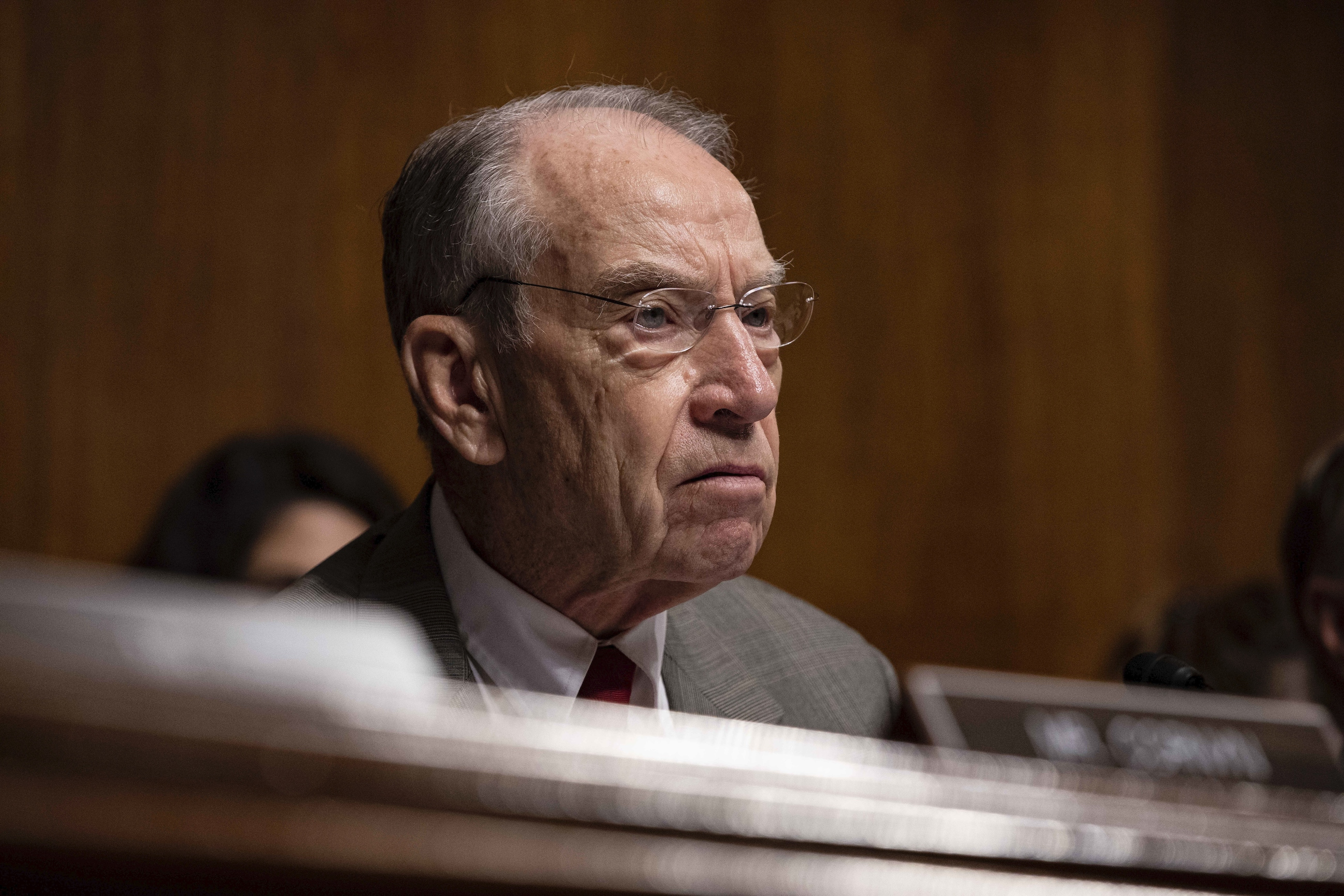 Sen. Grassley Says Whistleblower Deserves to Be 'Heard out and Protected'