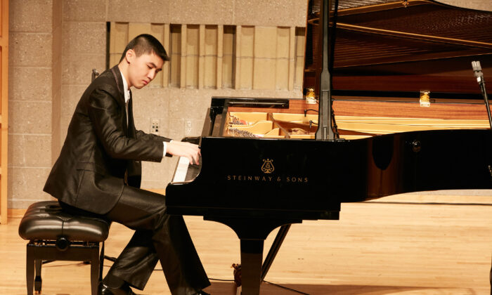 Shih-Yeh Lu from Taiwan is one of the pianists advancing to the finals on Sept. 28, 2019. (NTD)
