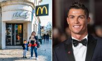 Soccer Star Cristiano Ronaldo Seeks Reunion With McDonald's Staff Who Gave Him Free Burgers As a Hungry Boy