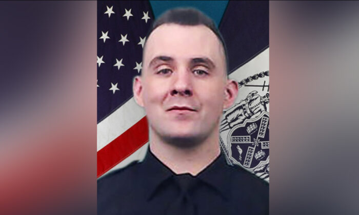 Officer Brian Mulkeen. (NYPD)