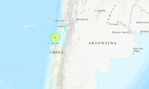 Powerful 6.8 Magnitude Earthquake Hits Near Coast of Chile