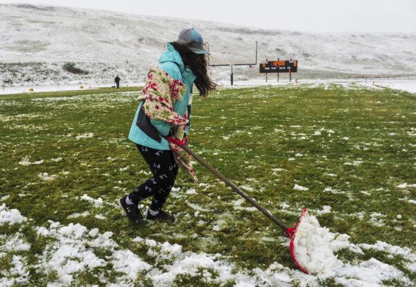 heavy snow northwestern Montana northern Rocky Mountains