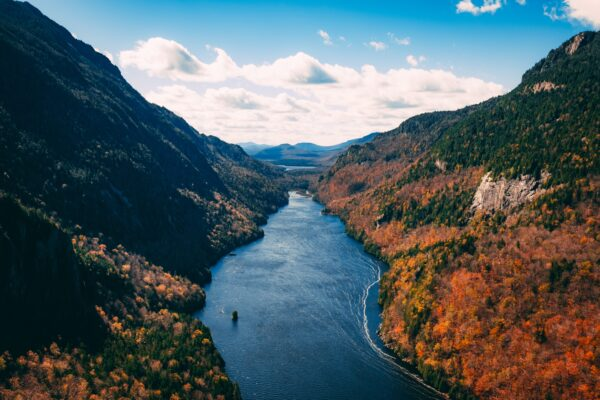 Autumn in the Adirondack Mountains