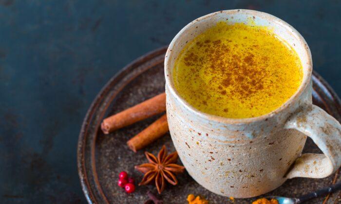 Turmeric tea is a healing treat with an ancient pedigree. (NADKI/Shutterstock)