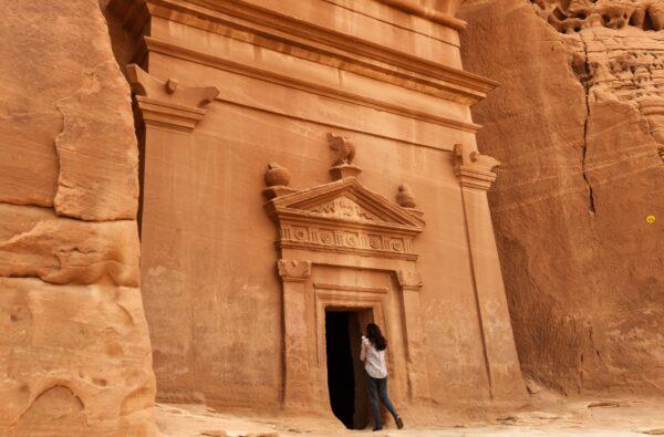 tomb at Madain Saleh