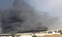 Massive Fire at New Saudi High-Speed Train Station Injures at Least 10