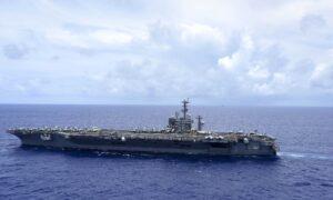 Navy Sailor Dies After Falling Off USS Nimitz During Stop in California