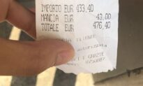 Italian Restaurant Faces Bevy of Tourist Complaints After $500 Bill Goes Viral