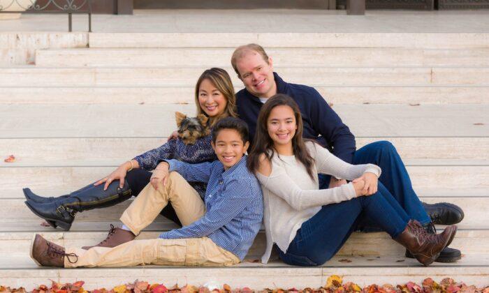 The Treitler Family. (Courtesy of Marc Treitler)
