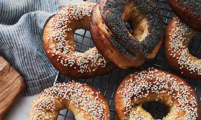 Homemade bagels. (Ryan Szulc)