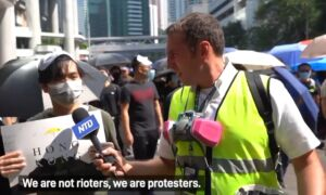 Amid Tear Gas and Violence, Epoch Media Reporters Bring the True Story of Hong Kong Protests