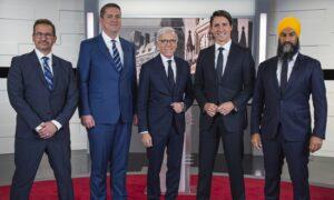 French-Language Debate: Trudeau Shows Up, Scheer Put in Hot Seat, Blanchet Defends Bill 21