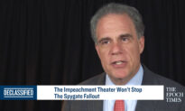 The Impeachment Theater Won't Stop The Spygate Fallout