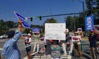 Atlanta Tea Party Protests Democratic Congresswoman Over Impeachment of Trump