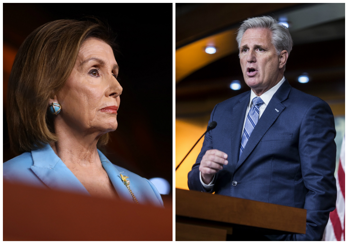 House Minority Leader Says Pelosi Will Lose Speaker Gavel: 'It Only Takes 19 Seats'