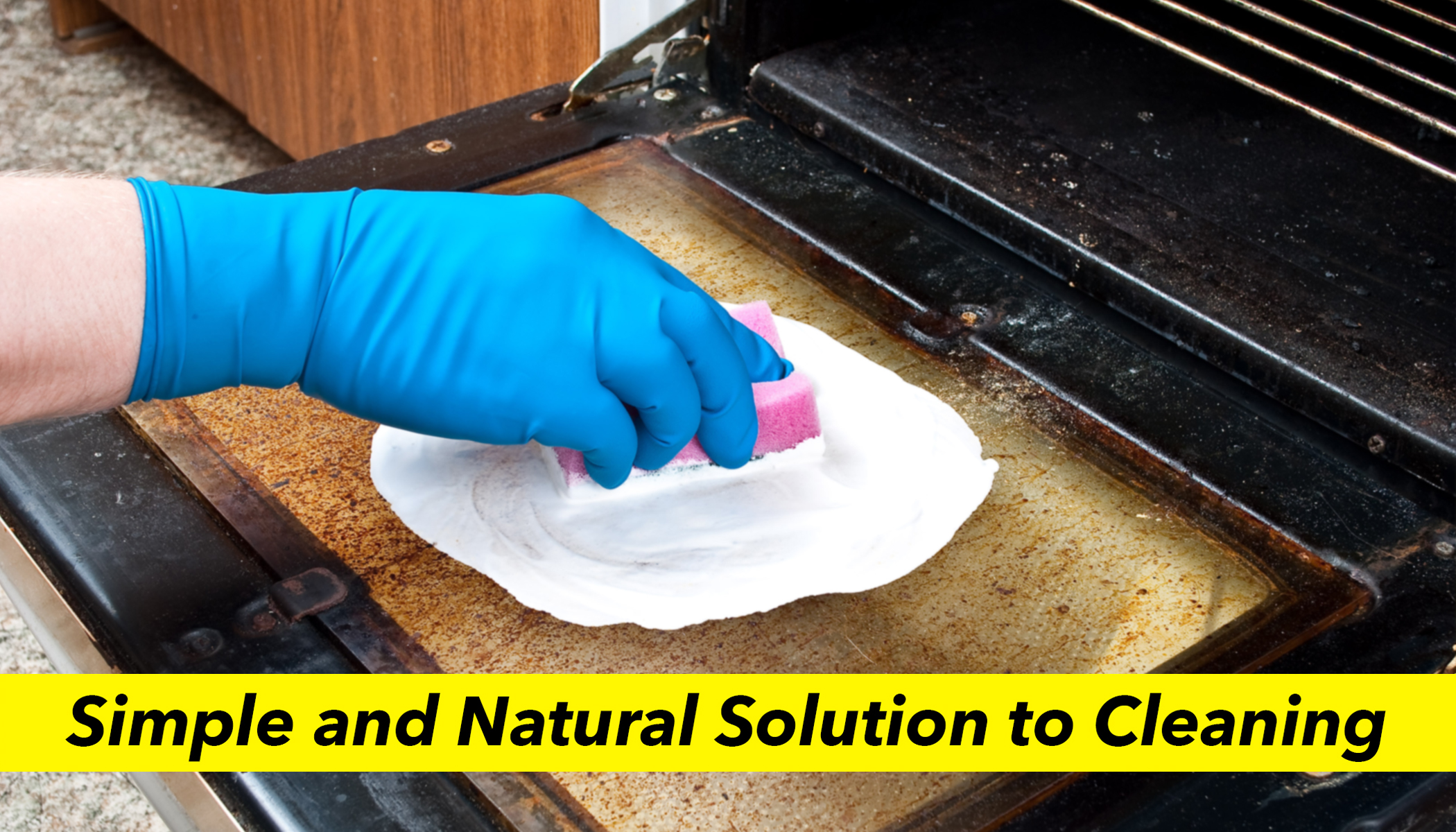 Make This Effective DIY Oven Cleaner With Only Four Basic Items From Your Kitchen