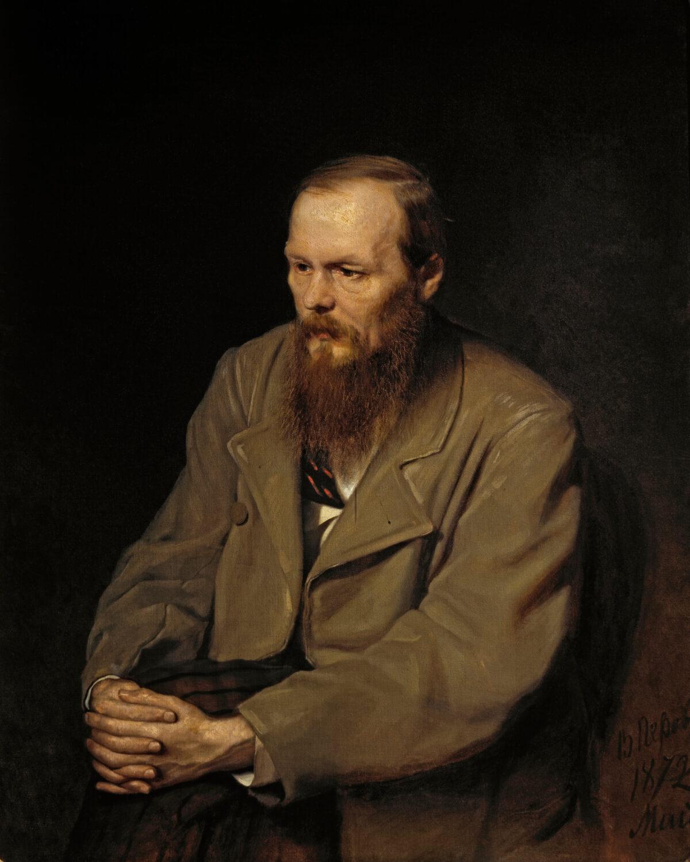 portrait of Dostoyevski by Vasily_Perov