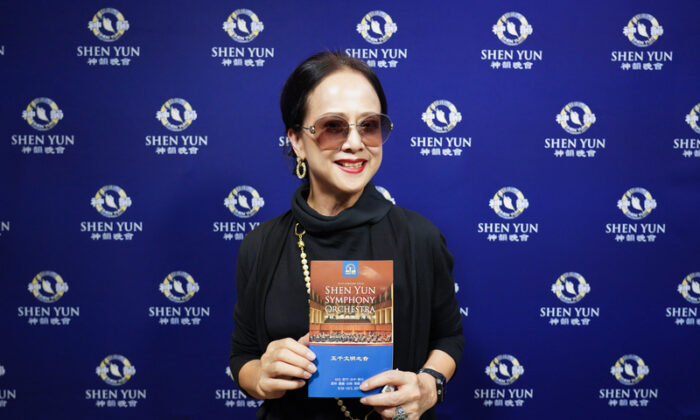 Taiwanese Singer Marvels at 'Feast of Beauty' at a Shen Yun Concert