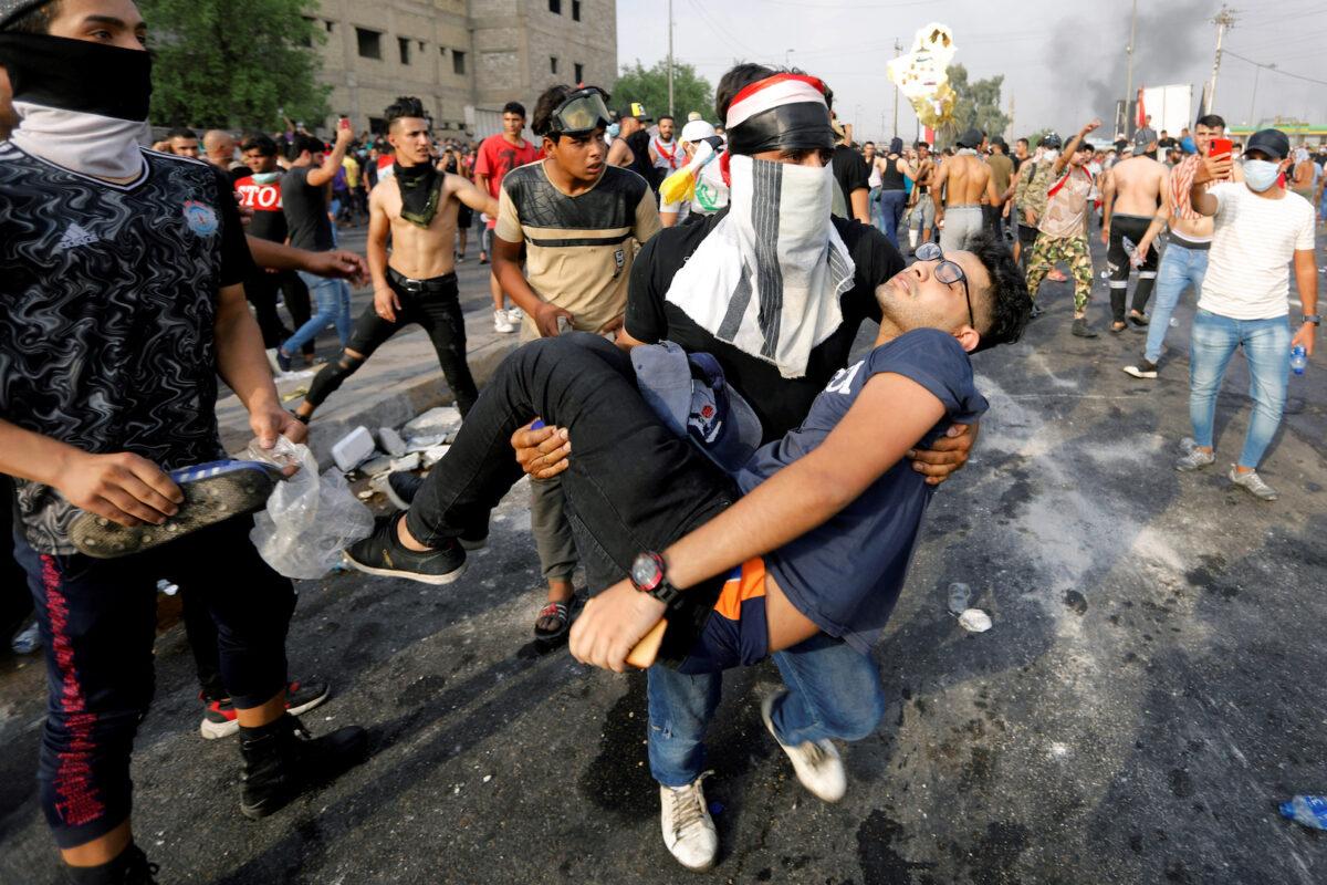 Iraq-protests-killed-child