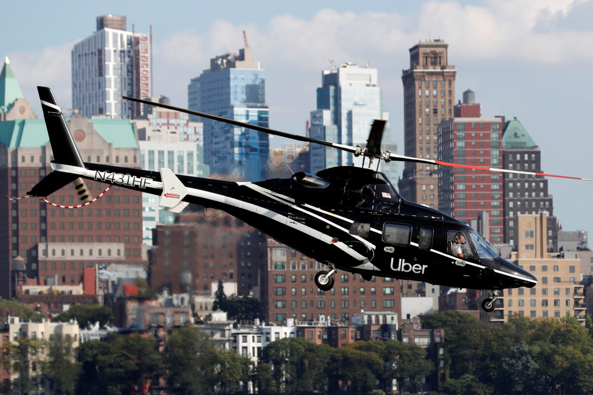 Uber Copter Will Now Fly You Over City Gridlock