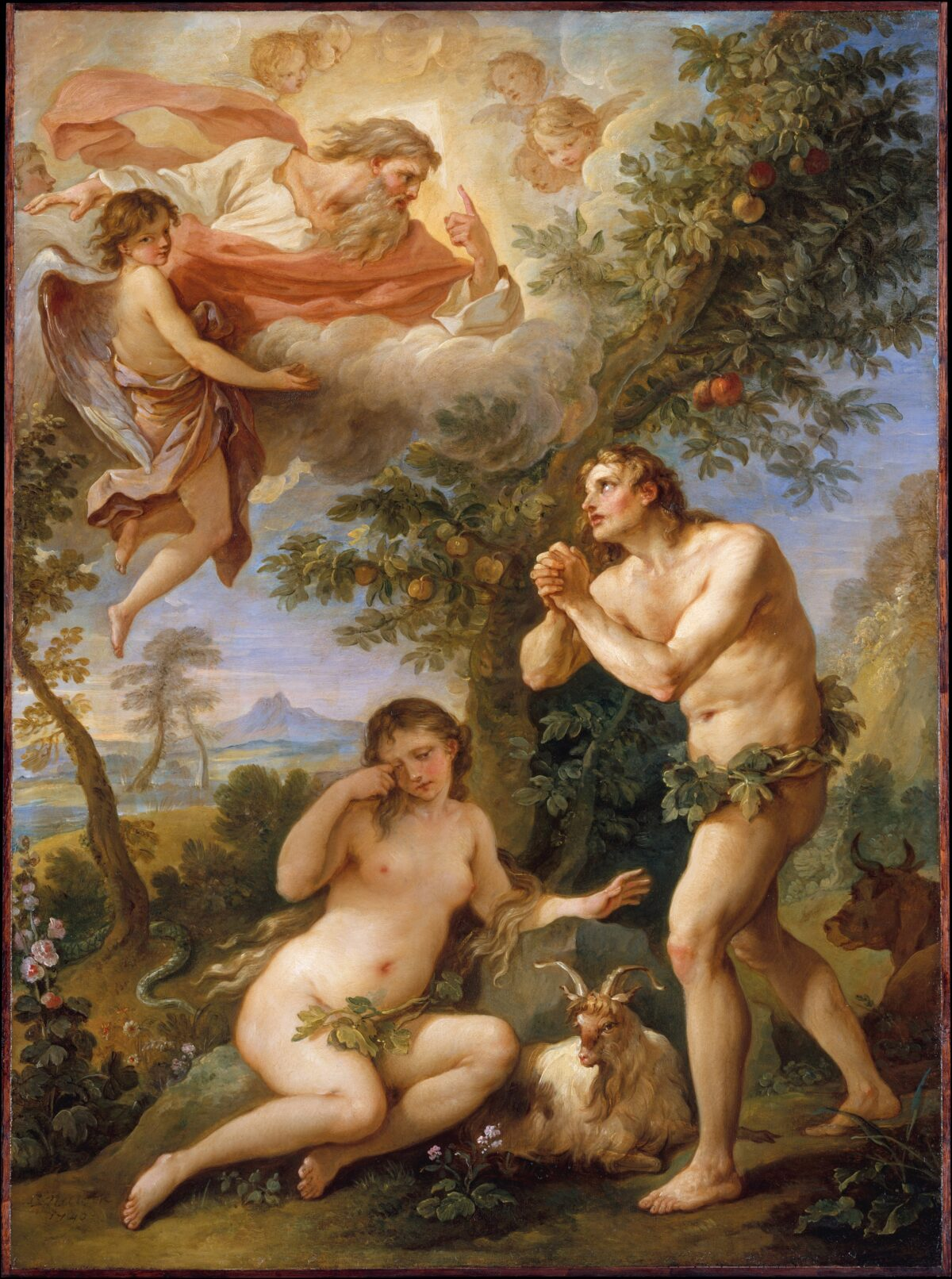 Rebuke of Adam and Eve
