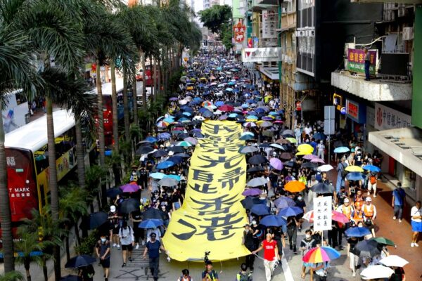 glory hong kong march