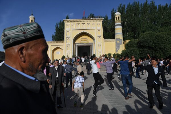 CHINA-RIGHTS-TOURISM-XINJIANG