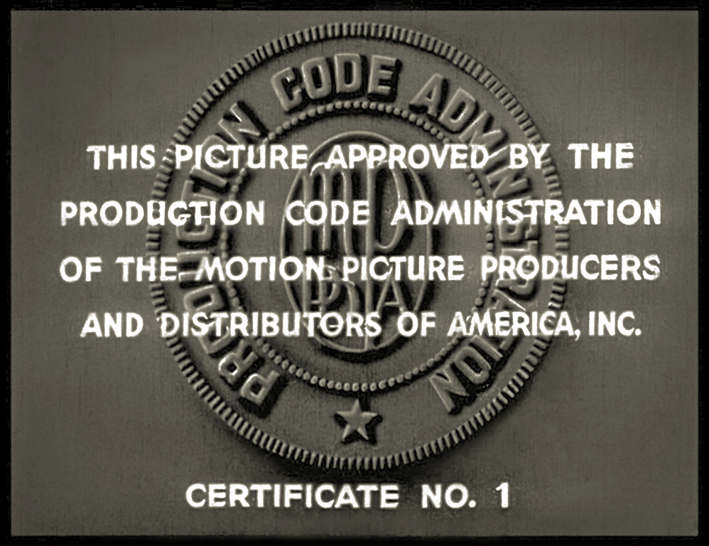 motion picture code seal of approval