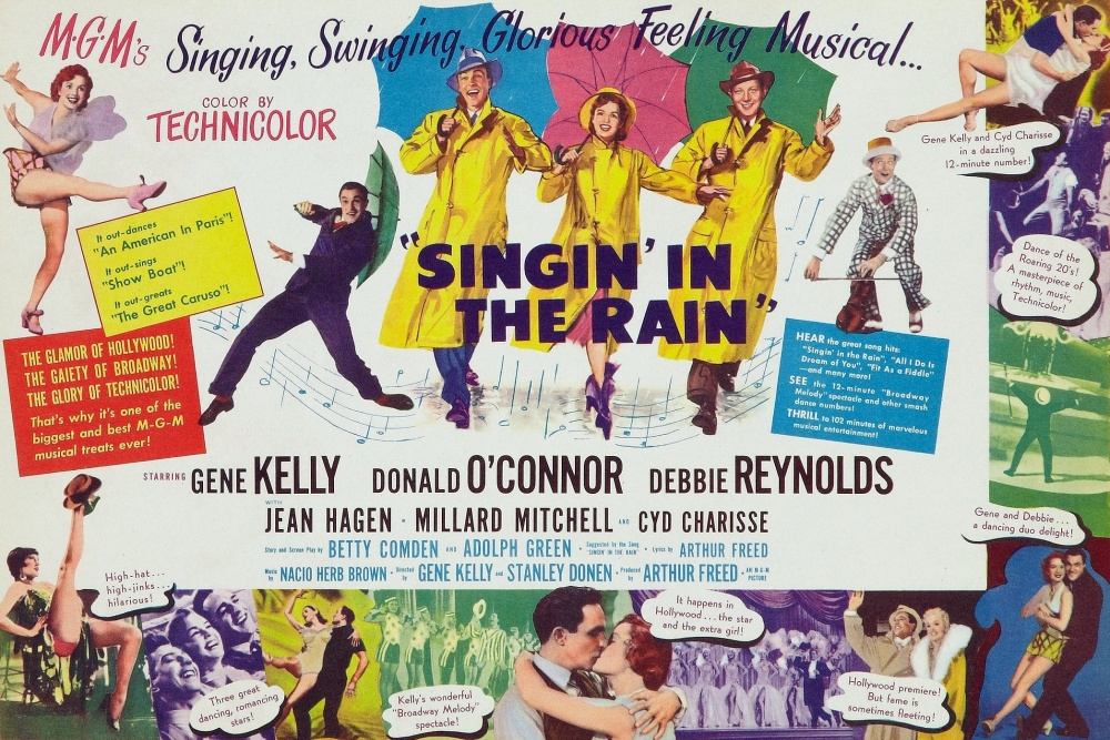 poster for Singin in the Rain