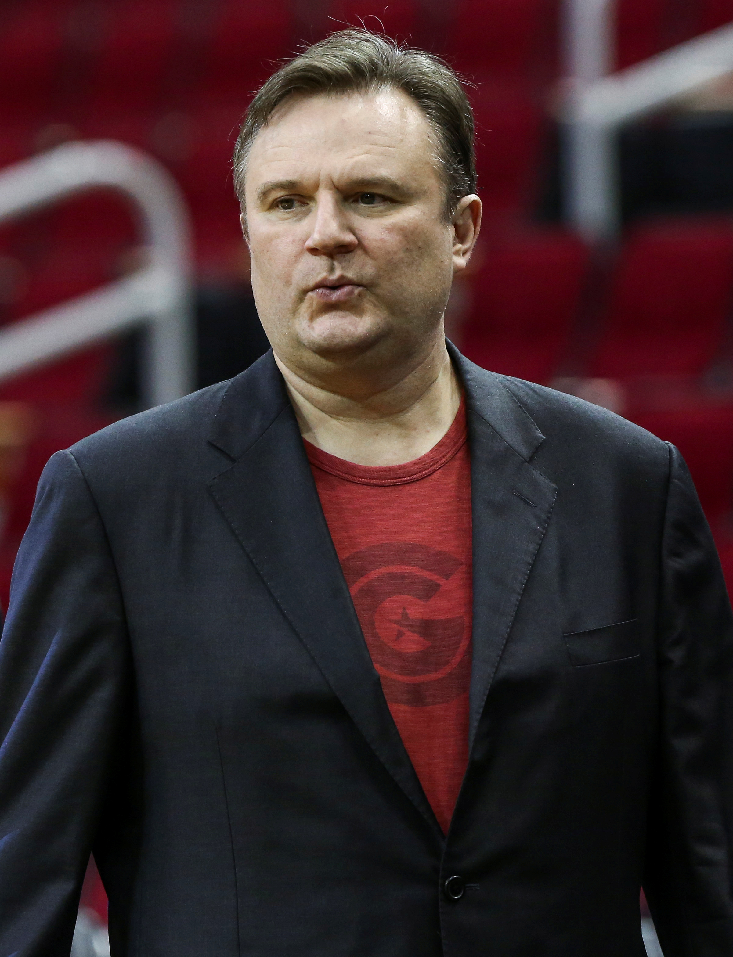 Manažer týmu Houston Rockets.  (Troy Taormina-USA TODAY Sports)