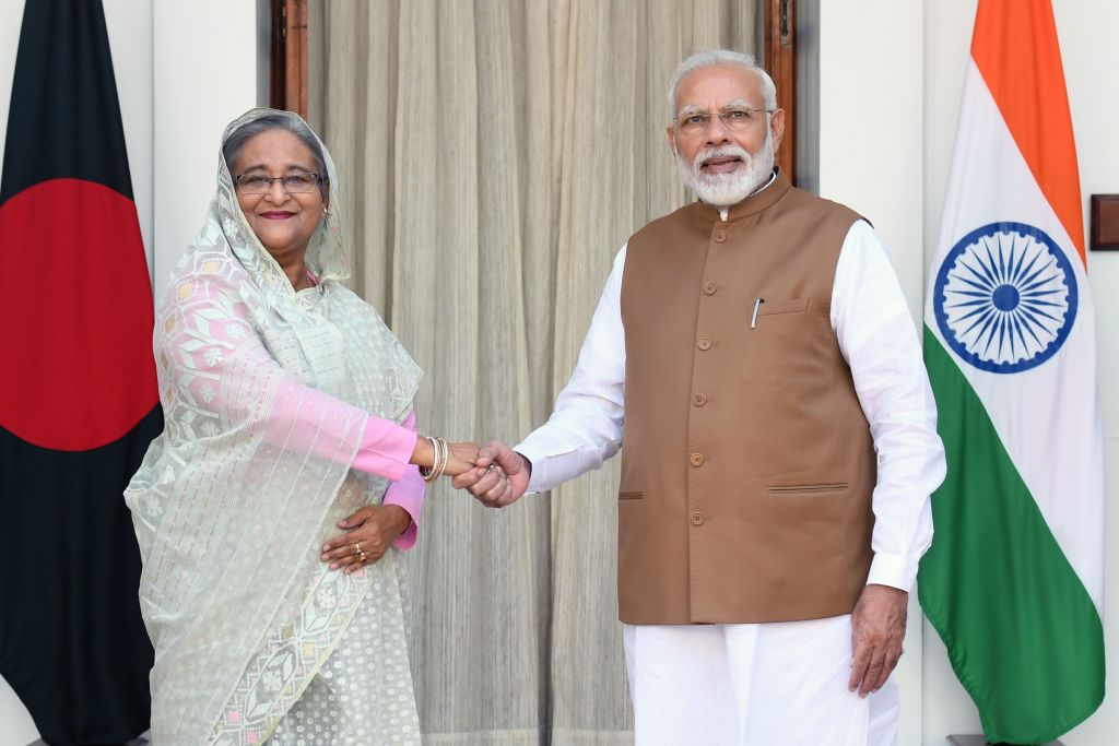 India Signs Seven Deals With Bangladesh to Fend Off Chinese Influence