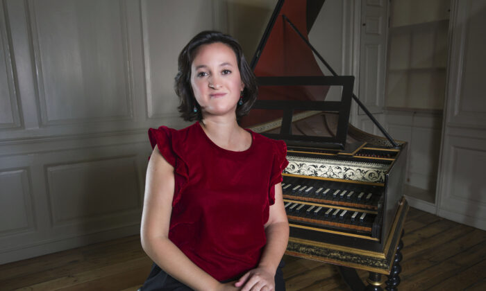 Harpsichordist and organist Marta López Fernández at Handel House in London in 2017. (Sandra Vijandi/Handel & Hendrix in London)
