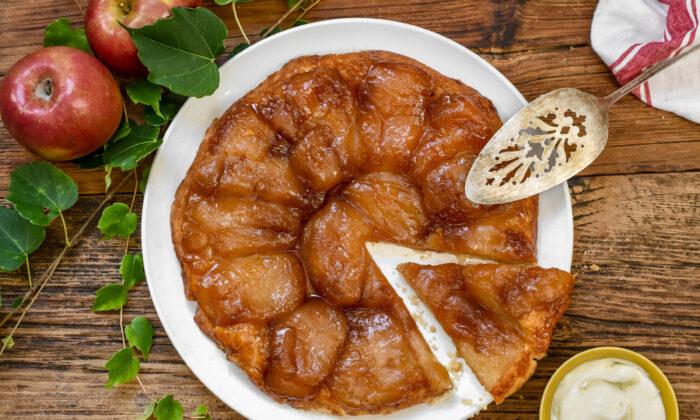 The classic tarte Tatin. (Audrey Le Goff)
