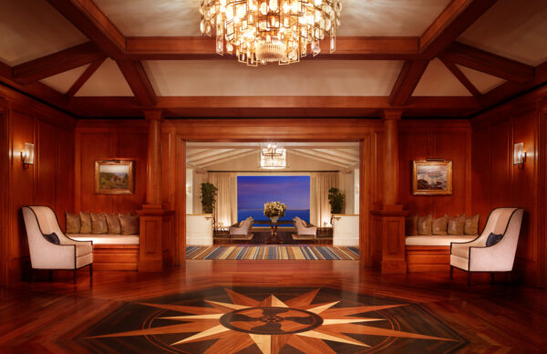 MLB-Architectural-Lobby Entrance-Evening