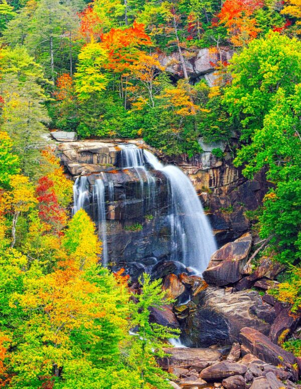 NORTH CAROLINA--d-34396-Upper Whitewater Falls