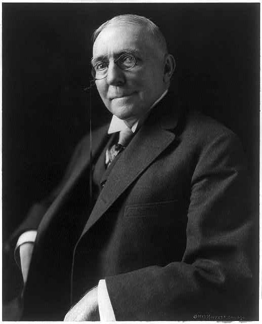 James Whitcomb Riley, circa 1913. (Public Domain)