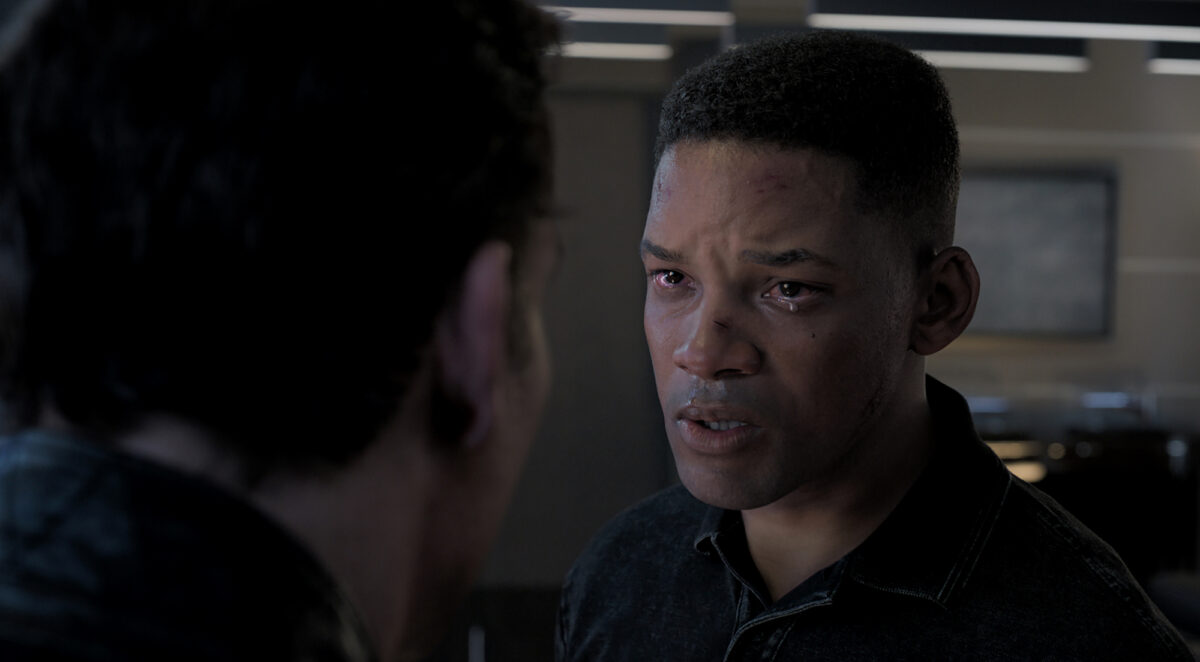 """Will Smith clone and """"dad"""""""